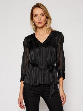 Guess Guess Μπλουζάκι Anita W1RH49 WDON2 Μαύρο Regular Fit