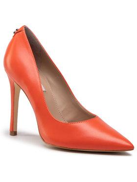 Guess Guess Pantofi cu toc subțire Gavi4 FL5GV4 LEA09 Portocaliu