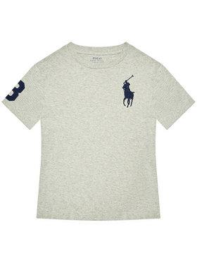 Polo Ralph Lauren Polo Ralph Lauren T-Shirt Ss Cn 323832907021 Γκρι Regular Fit