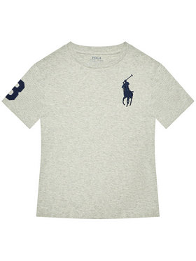 Polo Ralph Lauren Polo Ralph Lauren Tričko Ss Cn 323832907021 Sivá Regular Fit