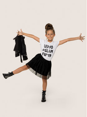 Liu Jo Kids Liu Jo Kids T-shirt G69222 J0088 Blanc Regular Fit