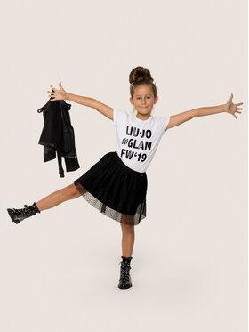 Liu Jo Kids Liu Jo Kids T-Shirt G69222 J0088 Weiß Regular Fit