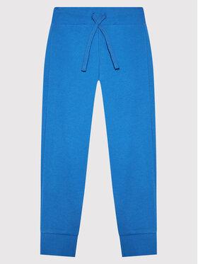 United Colors Of Benetton United Colors Of Benetton Melegítő alsó 3J68I0028 Kék Regular Fit
