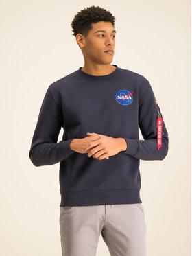 Alpha Industries Alpha Industries Džemperis Space Shuttle 178307 Tamsiai mėlyna Regular Fit