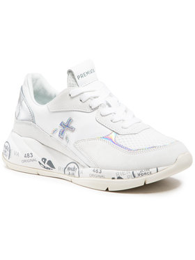 Premiata Premiata Sneakersy Scarlett 3694 Biały