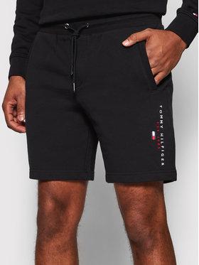 Tommy Hilfiger Tommy Hilfiger Sportovní kraťasy Essential MW0MW17401 Černá Regular Fit