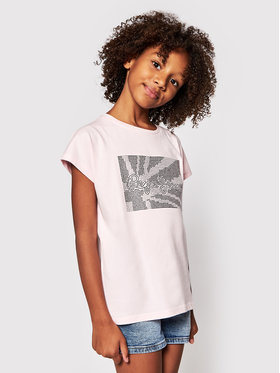 Pepe Jeans Pepe Jeans Tricou Noe PG502702 Roz Regular Fit