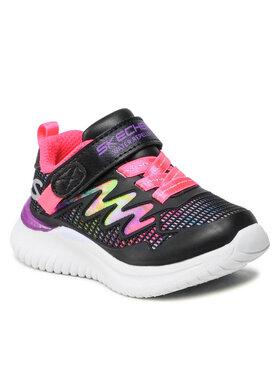 Skechers Skechers Sneakersy 302434N/BKMT Czarny