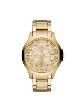 Armani Exchange Armani Exchange Zegarek Hampton AX2415 Złoty