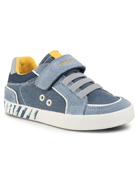 Geox Sneakersy B Kilwi B. B B02A7B 0NB22 C4B4S S Modrá