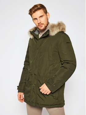 Geox Geox Parka Dennie M0428F T2451 F3226 Zelená Regular Fit