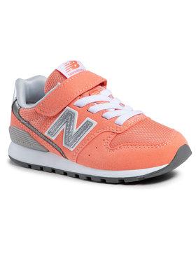 New Balance New Balance Sneakersy YV996CCP Pomarańczowy