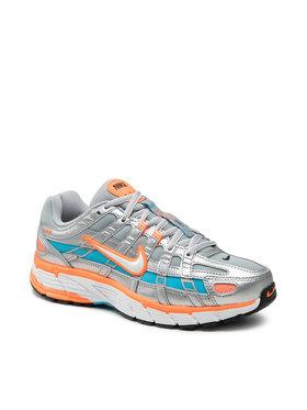 Nike Nike Boty Nike P-6000 CT3751 001 Stříbrná
