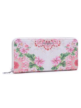 Desigual Desigual Veľká dámska peňaženka 21SAYP01 Ružová
