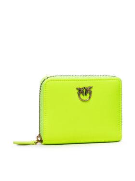 Pinko Pinko Veľká dámska peňaženka Taylor 100% AI 21-22 PLTT 1P22G7 Y7KZ Zelená
