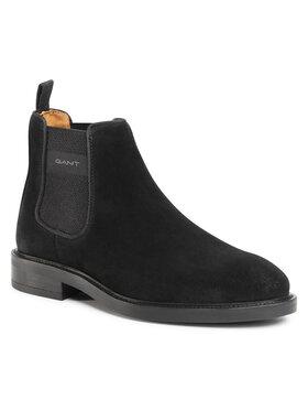 Gant Gant Členková obuv s elastickým prvkom Flairville 21653997 Čierna