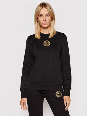 Versace Jeans Couture Versace Jeans Couture Bluză V-Emblem Foil 71HAIT03 Negru Regular Fit