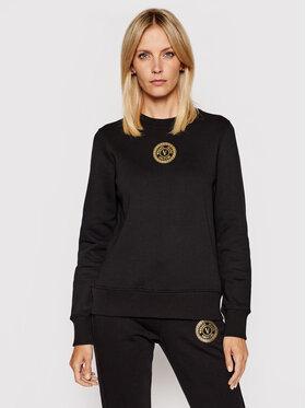 Versace Jeans Couture Versace Jeans Couture Суитшърт V-Emblem Foil 71HAIT03 Черен Regular Fit