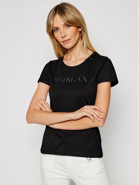 Morgan Morgan Marškinėliai 211-DAN Juoda Regular Fit
