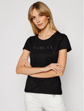 Morgan Morgan Tričko 211-DAN Čierna Regular Fit