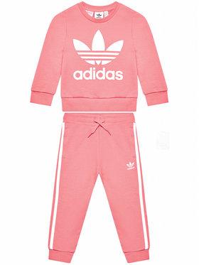 adidas adidas Dres Crew Set GN8206 Różowy Standardt Fit