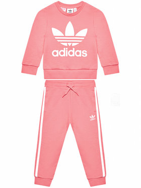 adidas adidas Jogginganzug Crew Set GN8206 Rosa Standardt Fit