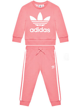 adidas adidas Φόρμα Crew Set GN8206 Ροζ Standardt Fit