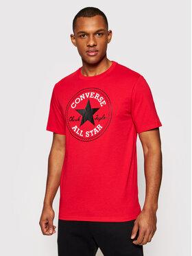 Converse Converse T-Shirt Chuck Pack 10007887-A46 Czerwony Regular Fit