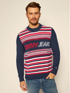 Tommy Jeans Tommy Jeans Sweater Structure Mix DM0DM09446 Színes Regular Fit