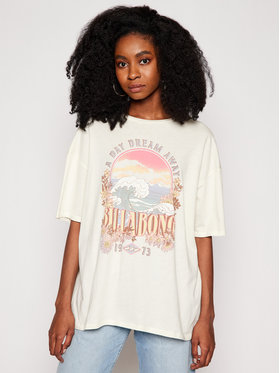 Billabong Billabong T-Shirt Dreamy Day W3SS36 BIP1 Beige Oversize