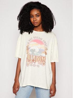 Billabong Billabong T-Shirt Dreamy Day W3SS36 BIP1 Beżowy Oversize