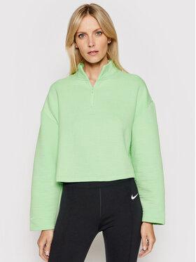 Nike Nike Bluză Sportswear Tech Fleece 1/4 Zip CT0882 Verde Relaxed Fit