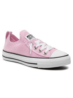 Converse Converse Sneakers aus Stoff Ctas Shoreline Knit Slip 568544C Rosa