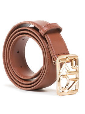 Pinko Pinko Damengürtel Fischio Small Simply Belt Al 20-21 PLT01 1H20S4 Y5FF Braun