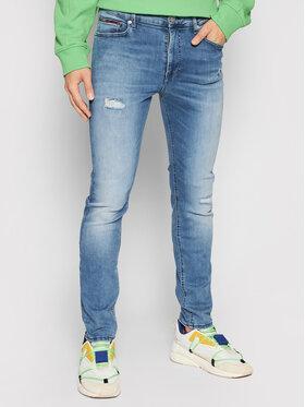 Tommy Jeans Tommy Jeans Džínsy Simon DM0DM09817 Modrá Skinny Fit