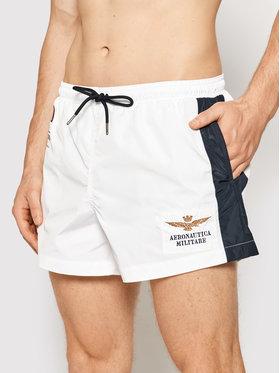Aeronautica Militare Aeronautica Militare Pantaloncini da bagno 211BW201CT1537 Bianco Regular Fit