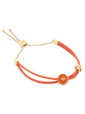 Tory Burch Tory Burch Karkötő Kira Enamel Slider Bracelet 61683 Narancssárga