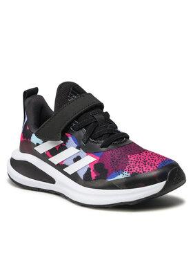 adidas adidas Topánky Forta Run El K H04125 Čierna