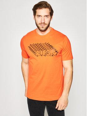 Diesel Diesel T-shirt T-Just-T20 000SEG2 0091A Orange Regular Fit
