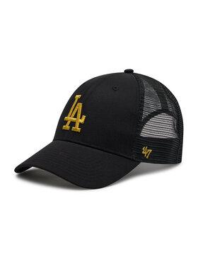 47 Brand 47 Brand Шапка с козирка Los Angeles Dodgers B-BRMTL12CTP-BK Черен