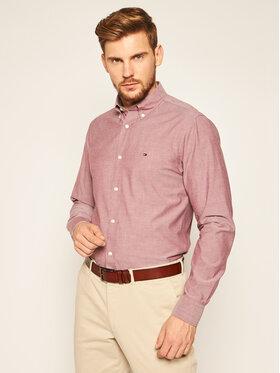 TOMMY HILFIGER TOMMY HILFIGER Koszula Peached MW0MW14994 Różowy Regular Fit