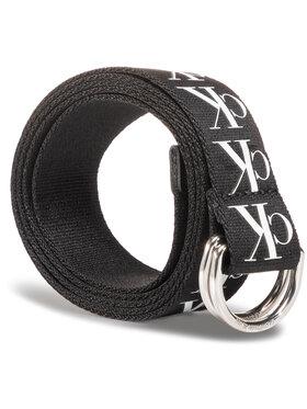Calvin Klein Jeans Calvin Klein Jeans Pánsky opasok Ckj Tape D-Ring Woven 30 Mm K50K505863 Čierna