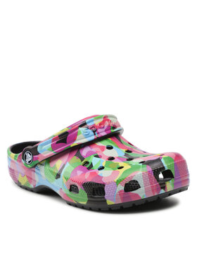 Crocs Crocs Mules / sandales de bain Classic Bubble Block Clog 207298 Multicolore