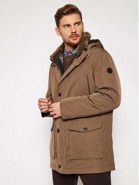 Bugatti Bugatti Parka 672813 69034 Καφέ Regular Fit