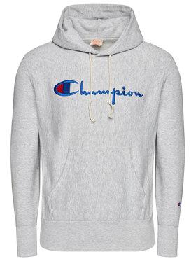 Champion Champion Sweatshirt Script Logo 215210 Grau Custom Fit