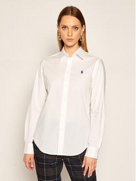 Polo Ralph Lauren Polo Ralph Lauren Košile Lsl 211806180 Bílá Classic Fit