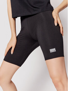 Sprandi Sprandi Pantaloni scurți sport SS21-SHD005 Negru Slim Fit