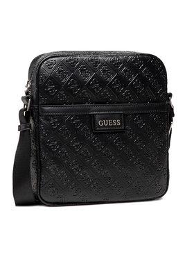 Guess Guess Мъжка чантичка Vezzola (4G Embossed) HMVEZE P1358 Черен