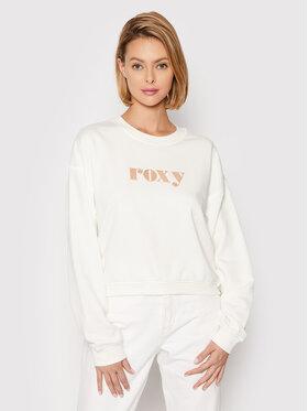 Roxy Roxy Mikina Break Away ERJFT04394 Bílá Relaxed Fit