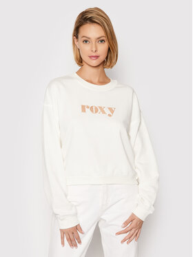 Roxy Roxy Sweatshirt Break Away ERJFT04394 Weiß Relaxed Fit